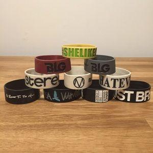 Rubber Bracelet Collection